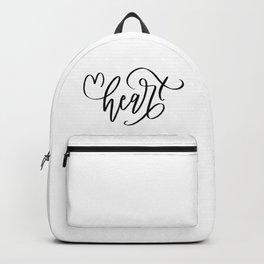 Heart & Love Backpack