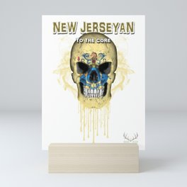 To The Core Collection: New Jersey Mini Art Print