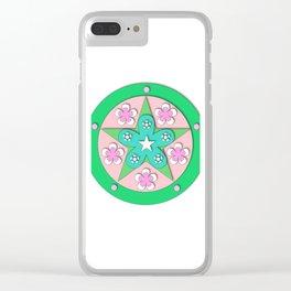 Mandala of Peace Clear iPhone Case