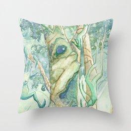 The Bumi Tree Sprites Throw Pillow