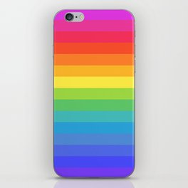 Solid Rainbow iPhone Skin