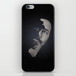Man Afraid iPhone Skin