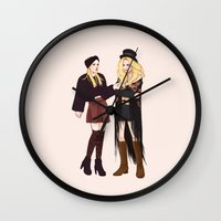 coven Wall Clocks featuring Gypsy by Mannequin