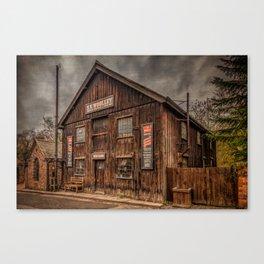 Victorian Sawmill Canvas Print
