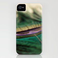 Funky Feather Slim Case iPhone (4, 4s)
