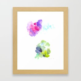 180802 Beautiful Rejection  10  Colorful Abstract Framed Art Print