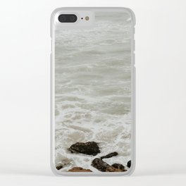 Sutro Bath Stairs Clear iPhone Case