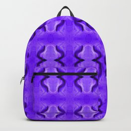 Sand dune pattern blue Backpack