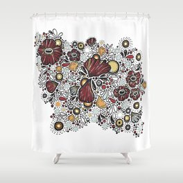 7225 Collection #7 Shower Curtain