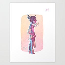 Lost girl #4 Art Print