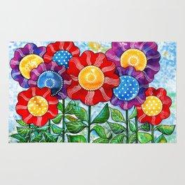 Happiest Flowers Rug