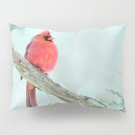 Elegant Cardinal Pillow Sham