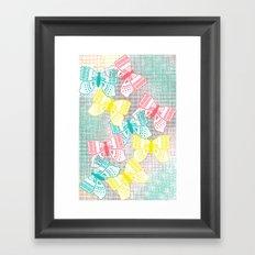 Butterflies in Heaven Framed Art Print