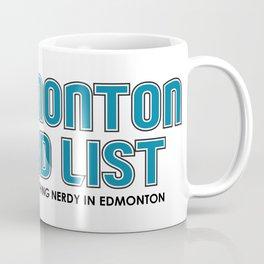 Edmonton Nerd List (Colour on light) Coffee Mug