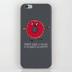 Danger Donut iPhone Skin