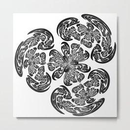 Flowering Brains Metal Print