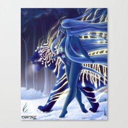 Tigress Walker Canvas Print