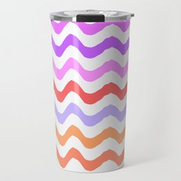 Pastel Waves II Travel Mug