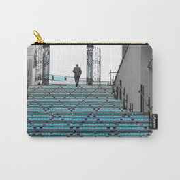Mystery Man on the Blue Stairway to Heaven, Kansas City Carry-All Pouch