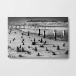 Stumps And Bumps Metal Print