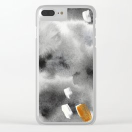 Golden moments || watercolor Clear iPhone Case