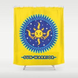 Sun Warrior Shower Curtain