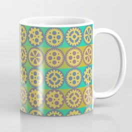Gearwheels pattern Coffee Mug
