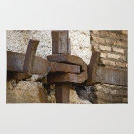 Steel anchor Rug