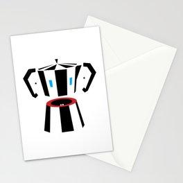 I'm all ears after a full moka pot! Stationery Cards