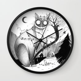 It's Christmas time... even if it's not! Wall Clock