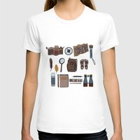 kit king T-shirts featuring Explorers kit by Laura Barnes