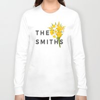 the smiths Long Sleeve T-shirts featuring SMITHS by priscilawho