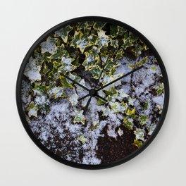 Neve em Londres - 2 Wall Clock