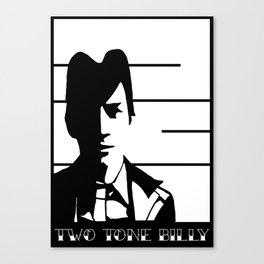 Two Tone Billy Canvas Print