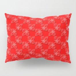Red dress run 2 Fleur Pillow Sham