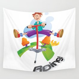 Boing Wall Tapestry