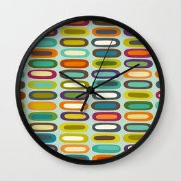 lozenge mint Wall Clock