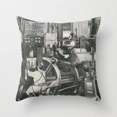 The Machine II Throw Pillow