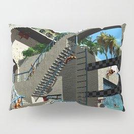 Optical Illusion - Tribute to Escher Pillow Sham