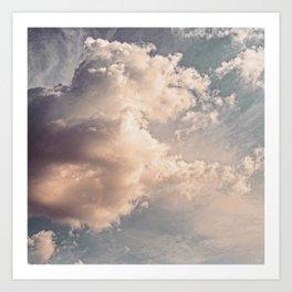 The Clouds #2 Art Print