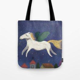 Night Pegasus Tote Bag