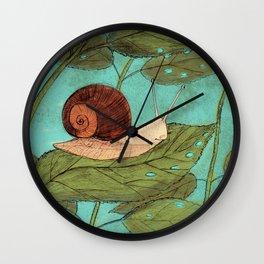Schnecke Wall Clock