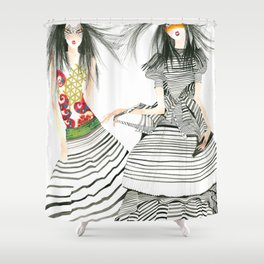 galina sokolova STRIPE ON Shower Curtain