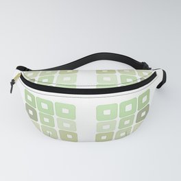 Squared Mint Green & Co Fanny Pack