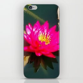 Glowing Lotus iPhone Skin