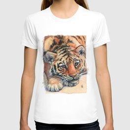 Resting Tiger Cub 896 T-shirt