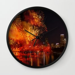 HAPPY BIRTHDAY, USA Wall Clock