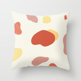 If a Sunset Melted Into Puddles Throw Pillow