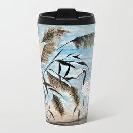 Evening Crane Travel Mug