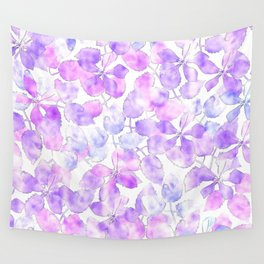 Watercolor Floral VI Wall Tapestry